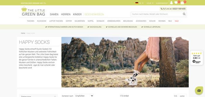 Was macht die Happy Socks Sockenfirma so besonders?